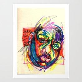 "Biggie Smalls - ""It Was All A Dream"" Art Print"