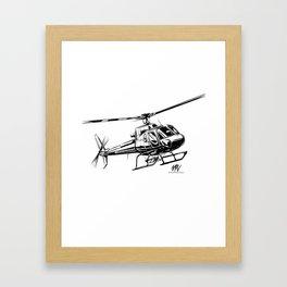 Eurocopter AS350 Écureuil Framed Art Print