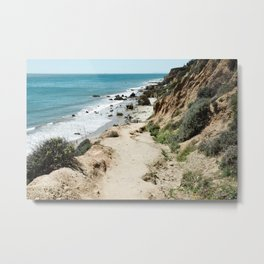 Golden Coast Metal Print