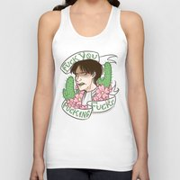 snk Tank Tops featuring Fuck You Fucking Fucks by IdentityPollution