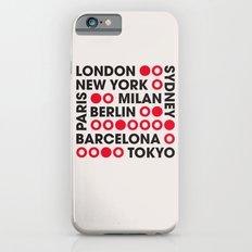 I Love This City Typography Slim Case iPhone 6s