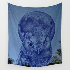 While everyone sleeps Wall Tapestry
