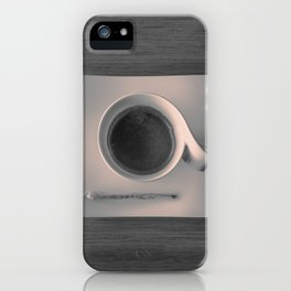 Modern Breakfast iPhone Case
