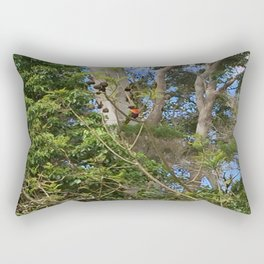 bird spotting Rectangular Pillow