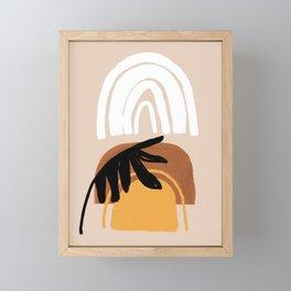 Palm desert Framed Mini Art Print