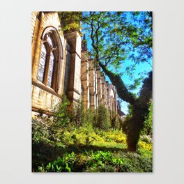 New York Cathedral Canvas Print