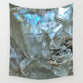 White Calcite Wall Tapestry