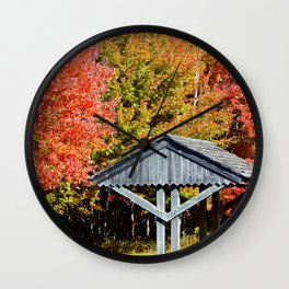 Resting Area in Full Colour Wall Clock