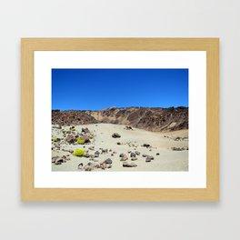 sulfur Framed Art Print