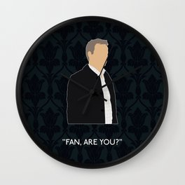 The Final Problem - Greg Lestrade Wall Clock