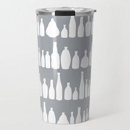 Bottles Grey Travel Mug