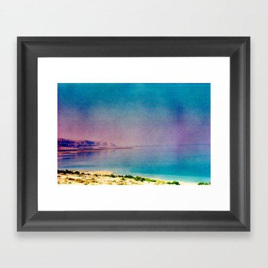 Dreamy Dead Sea II Framed Art Print