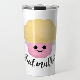 Stud Muffin - Earrings Travel Mug