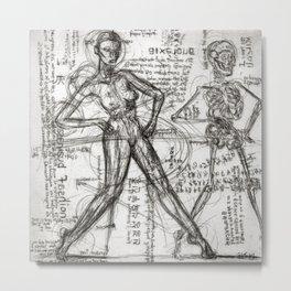 Clone Death - Intaglio / Printmaking Metal Print