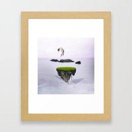 Island of Hope Framed Art Print