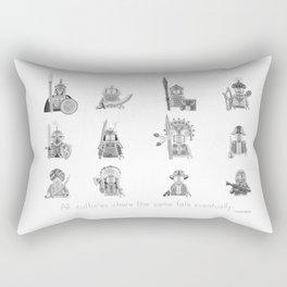 All Warriors Rectangular Pillow