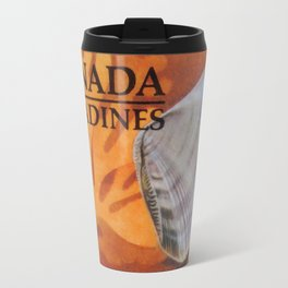 Wedge Clam Donax Denticulata Travel Mug