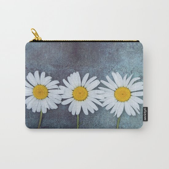 Three marguerites Carry-All Pouch