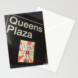 Queens Plaza Station Stationery Cards