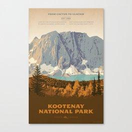 Kootenay National Park Canvas Print