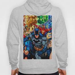 a collection of heroes Hoody