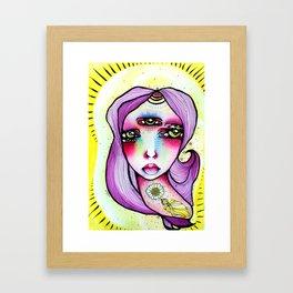 Grape Soda Framed Art Print