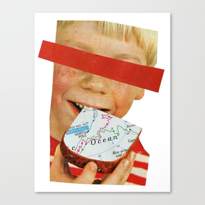 You Are What You Eat Canvas Print