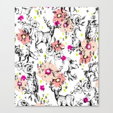 Woodland Shirley Canvas Print