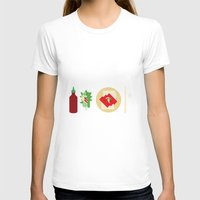 sriracha T-shirts featuring Sriracha Meal by I Ate My Pencil
