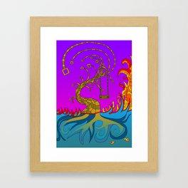 #4: Treehouse Framed Art Print