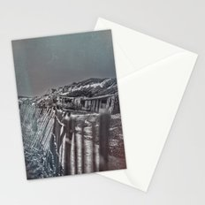 Crystal Cove Abandoned Beach Homes. Stationery Cards