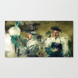 Breaking Bad - Green Canvas Print