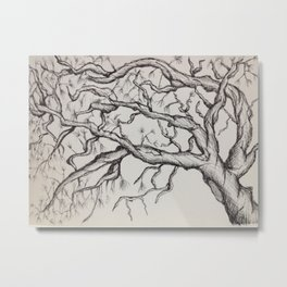 Withered  Metal Print