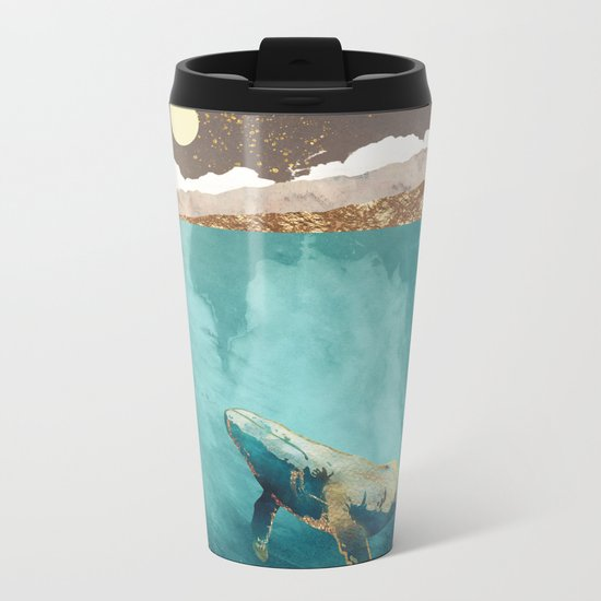 Light Beneath Metal Travel Mug