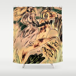 Gallop Shower Curtain