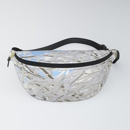 Icy Branches Fanny Pack