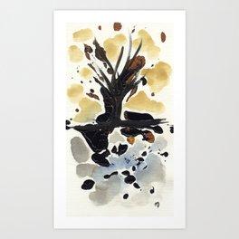 In Limbo - Sepia II Art Print