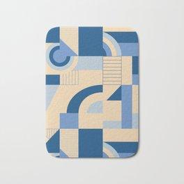 Calming Blocks #society6 #pattern Bath Mat