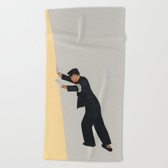 Pushing Boundaries Beach Towel