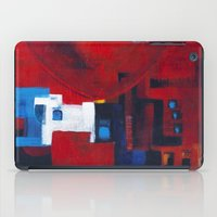 ballon iPad Cases featuring Red ballon by Nathalie Gribinski