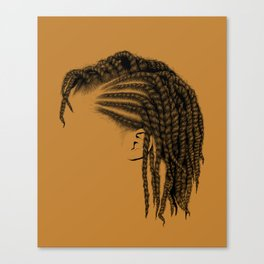 Crown: Twists Canvas Print