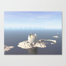 Egg Island Canvas Print