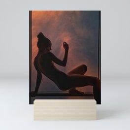 Light where it belongs Mini Art Print