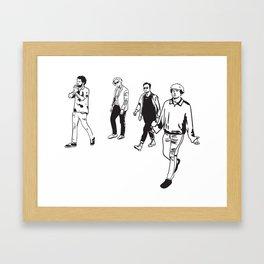 Kooks Framed Art Print