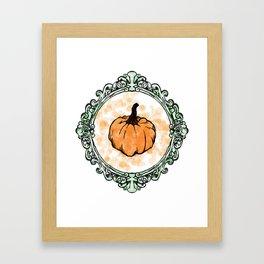 Pumpkin Coquine Framed Art Print