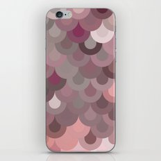 Pink Scales iPhone & iPod Skin