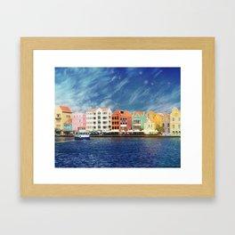 Willemstad, Curaçao Framed Art Print