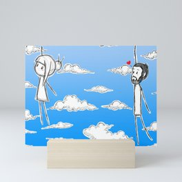 i'm fly with you Mini Art Print