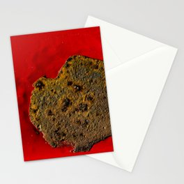 Rust on Red Stationery Cards