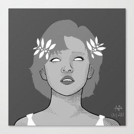 Blind Canvas Print
